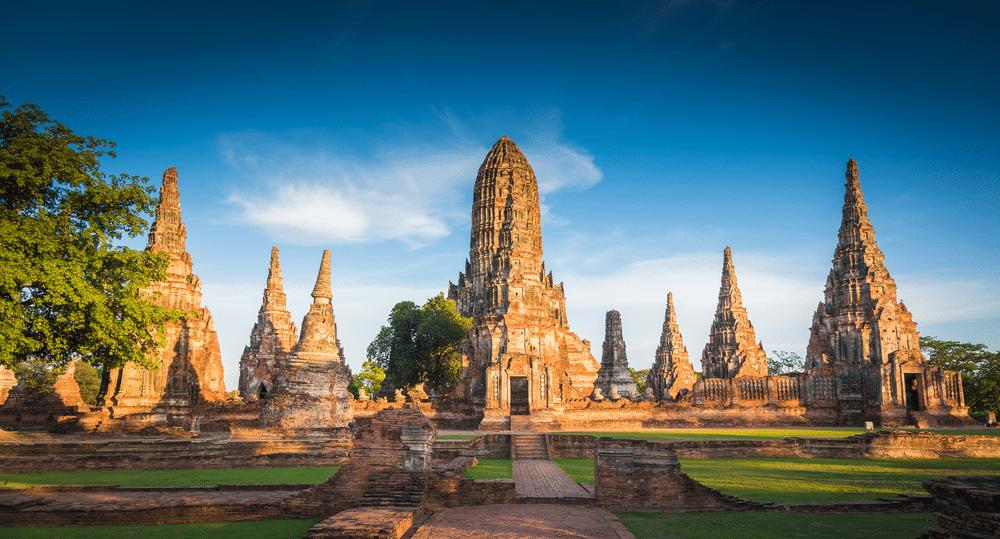 Oude tempels van Ayutthaya