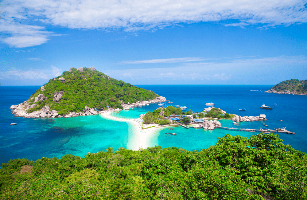 View point in Koh Tao