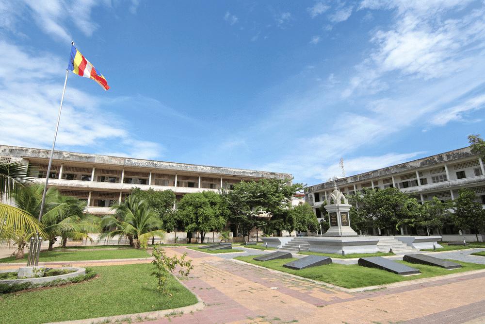 Tuel Sleng Gevangenis in Phnom Penh