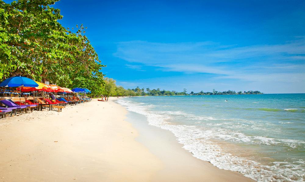 Sihanoukville, de kust in Cambodja